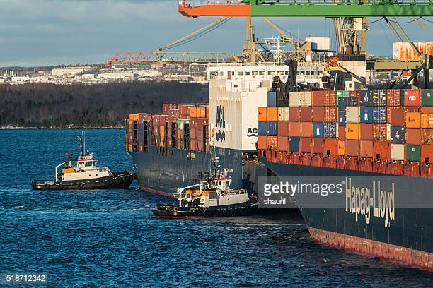 Container Ship Departure
