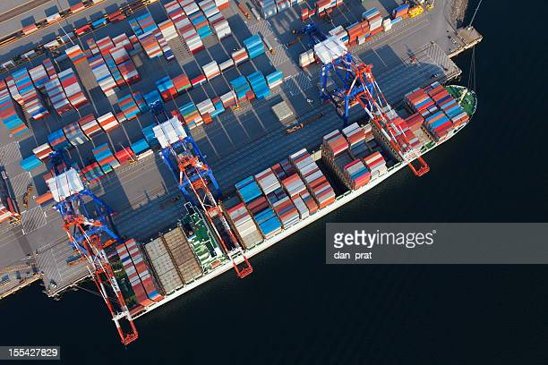 Container Ship Overhead