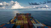 Container Ship Sailling