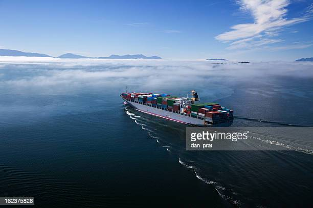Container Ship, Wide Angle