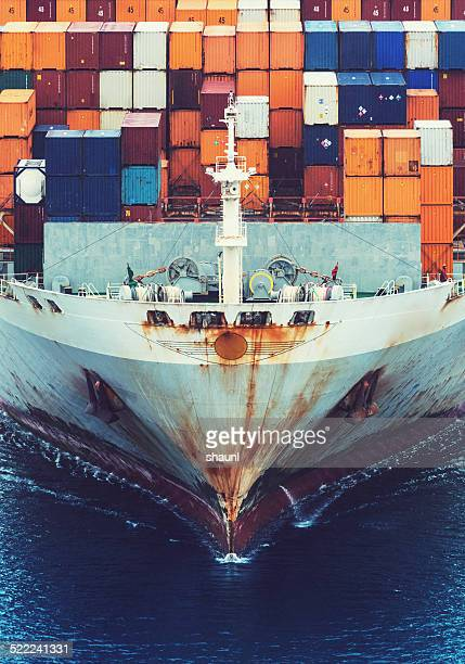 Container Ship's Bow
