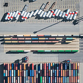 Container Terminal, Aerial view