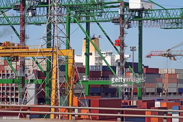 Container-Terminal Komplexität