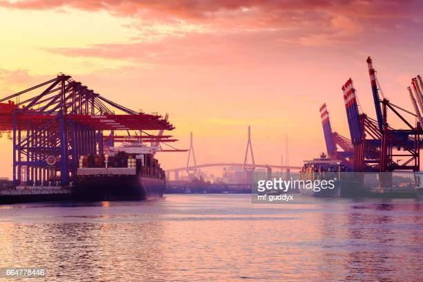 Container Terminal Hamburg - Deutschland