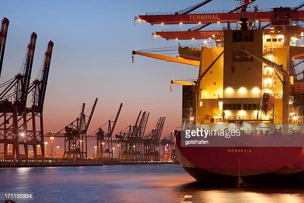container-terminal, Hamburger Hafen