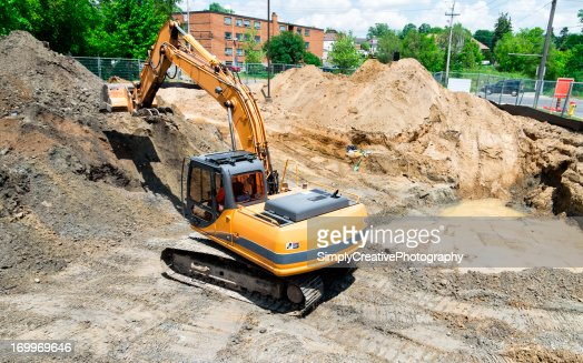 Brownfield site stock photos and pictures getty images for Soil remediation