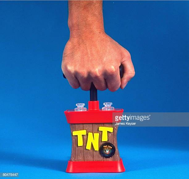 Contango ScreenToyz TNT Tad his Detonator keybdcompatible sound complete plunger enabling computer user to virtually terminate document w/o damaging...