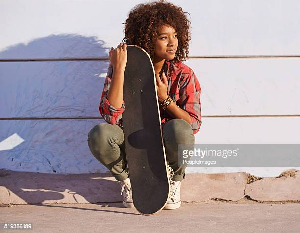 Contemplation in the skate park