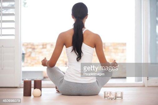 Contemplative meditation : Stock Photo