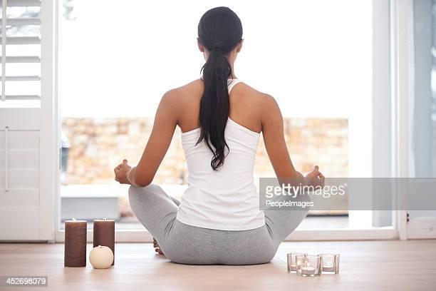 Entspannte meditation