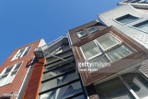 コンテンポラリーな建築 Java -eiland アムステルダム