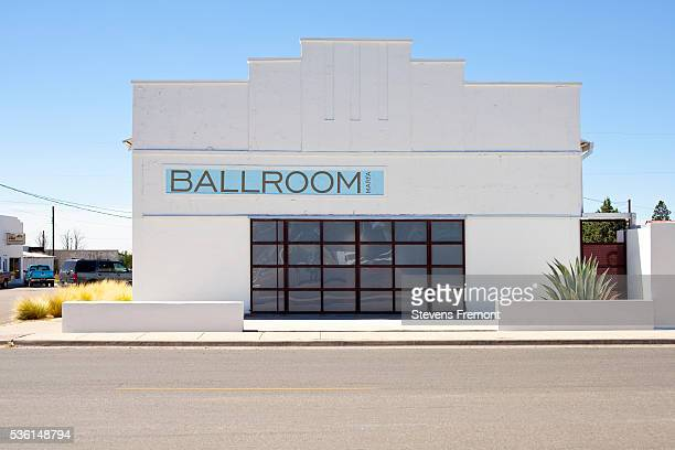 Contemporary art gallery Ballroom in Marfa, Texas
