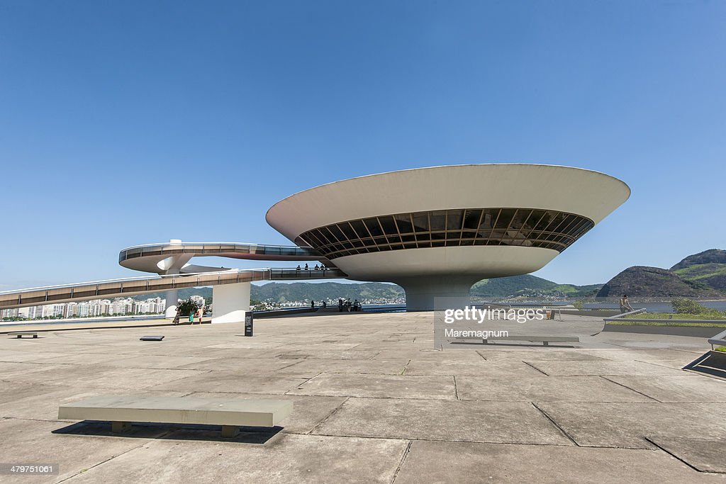 Contemporary art Museum at Niteroi