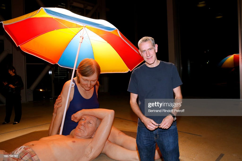 Contemporary Artist Ron Mueck attends his Exhibition : Closing Night at 'Fondation Cartier pour L'Art Contemporain' on October 24, 2013 in Paris, France.