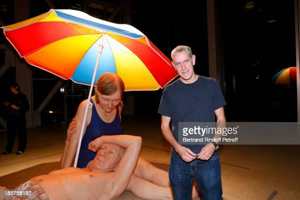 Contemporary Artist Ron Mueck attends his Exhibition Closing Night at 'Fondation Cartier pour L'Art Contemporain' on October 24 2013 in Paris France