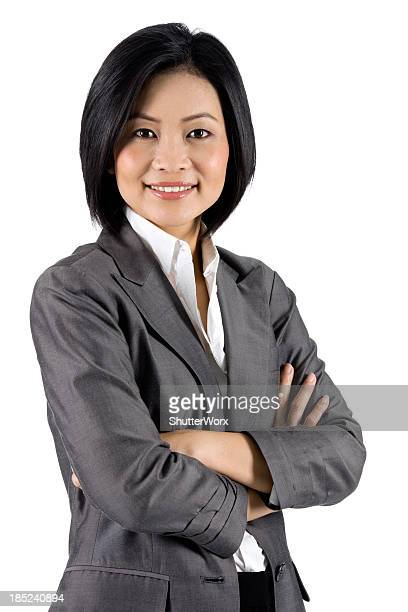 Contemporary Asian Businesswoman