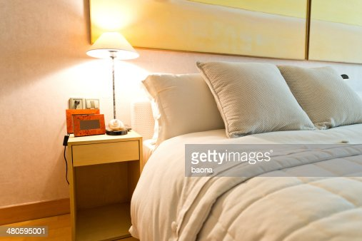 contemporary bedroom : Stock Photo