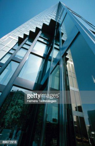Contemporary building exterior , Toronto , Ontario , Canada : Stock-Foto