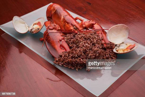 contemporary cuisine: lobster