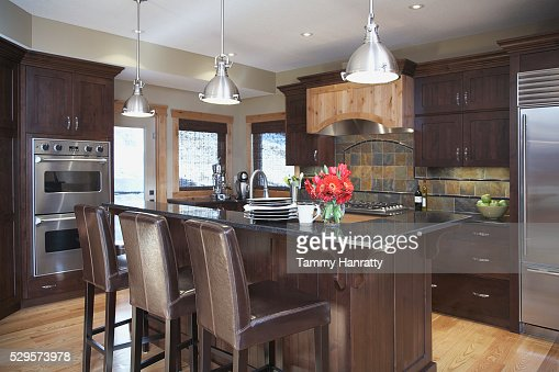 Contemporary kitchen : Stock-Foto