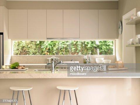 Contemporary Kitchen : Bildbanksbilder