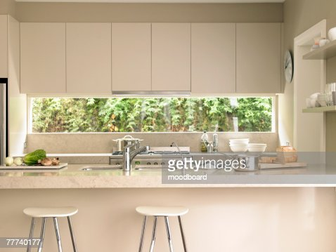 Contemporary Kitchen : Stock Photo