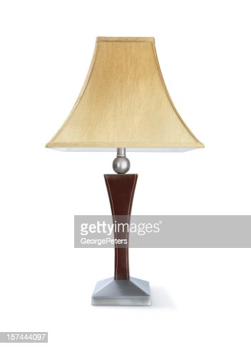 moderner lampe mit clipping path stock foto getty images. Black Bedroom Furniture Sets. Home Design Ideas