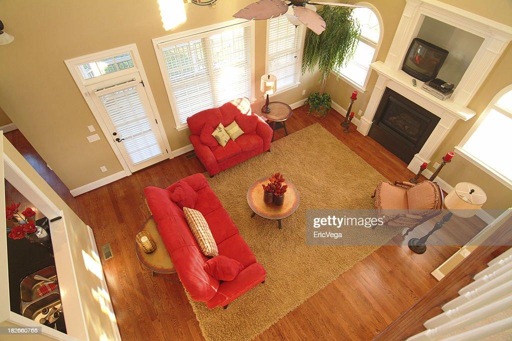Contemporary Living Room : Stock Photo