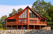 Contemporary Log House