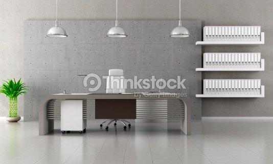 Mensole Per Ufficio : Ufficio contemporaneo foto stock thinkstock