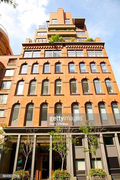 Contemporary renovation atop landmark NY building