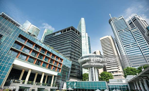 Contemporary Singapore skyscrapers