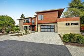 Contemporary style home in Bellevue, WA, Northwest, USA