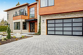 Contemporary style home in Bellevue, WA, Northwest, USA