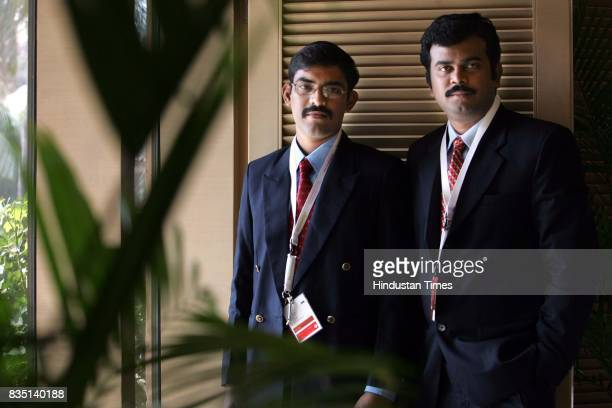 Contenders R Arun Chandran and Aravindhan Rathinam proposed a system to recycle water using household waste
