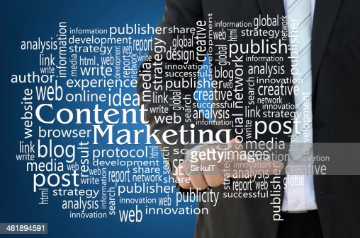 Content Marketing Concept : Stock Photo