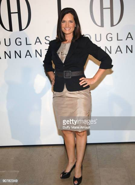 Contessa Brewer attends Douglas Hannant Spring 2010 during MercedesBenz Fashion Week at The Plaza Hotel on September 14 2009 in New York City