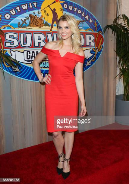 Contestant Andrea Boehlke attends CBS' 'Survivor Game Changers Mamanuca Islands' at CBS Studios Radford on May 24 2017 in Studio City California