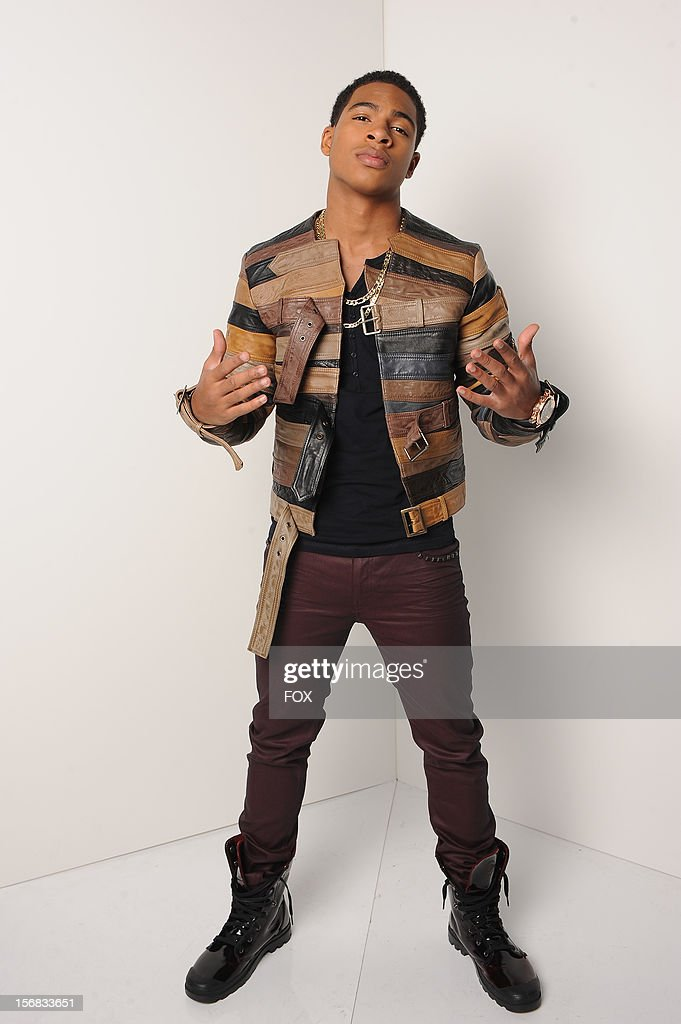 Contestant Arin Ray backstage at FOX's 'The X Factor' Season 2 Top 10 Live Performance Show on November 21, 2012 in Hollywood, California.
