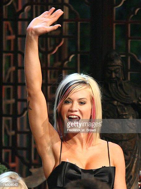 Contestant Ashley Massaro attends the Survivor China Finale at CBS Television City on December 16 2007 in Los Angeles California