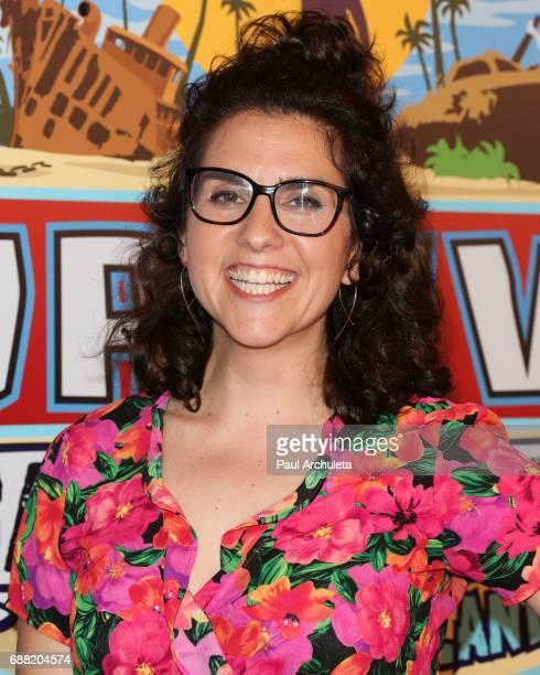 Contestant Aubry Bracco attends CBS' 'Survivor Game Changers Mamanuca Islands' at CBS Studios Radford on May 24 2017 in Studio City California
