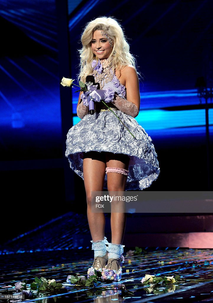 Contestant CeCe Frey performs onstage at FOX's 'The X Factor' Season 2 Top 8 Live Performance Show on November 28, 2012 in Hollywood, California. Photo by FOX via Getty Images)
