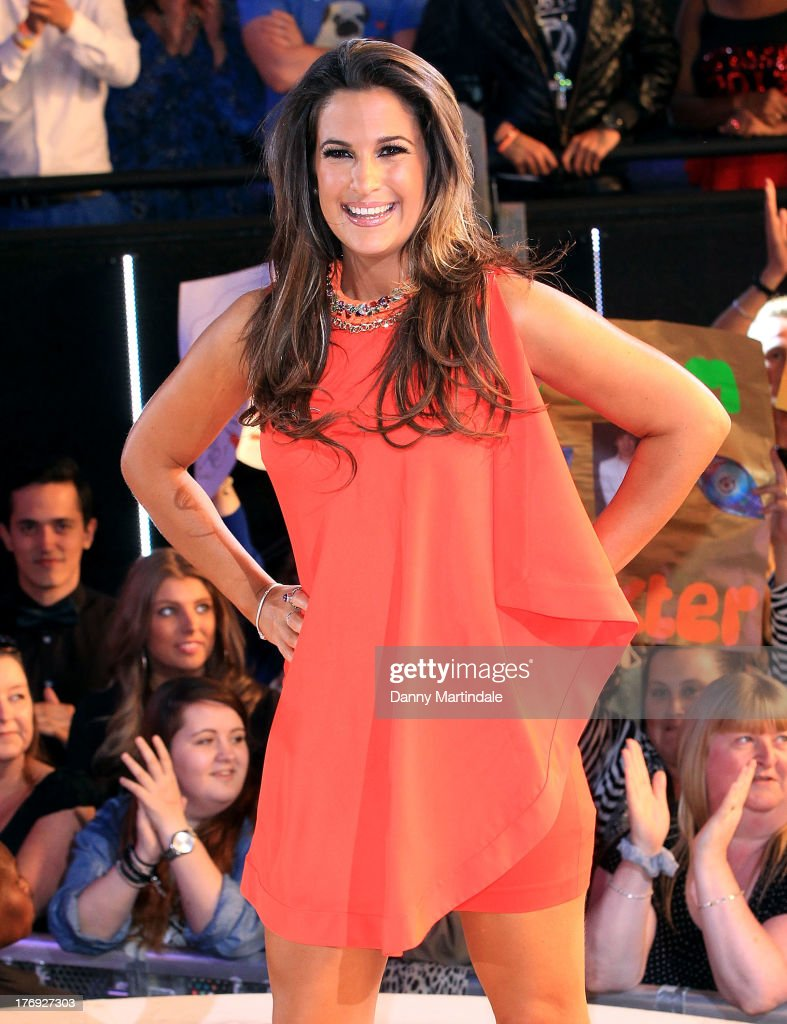 Contestant Charlie Travers is seen leaving the Big Brother house after placing fifth during the final at Elstree Studios on August 19, 2013 in Borehamwood, England.
