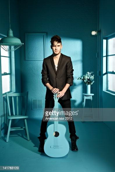 Contestant Colton Dixon poses for a portrait at FOX's American Idol Season 11 Top 13 Gallery on March 3 2012 in Hollywood California