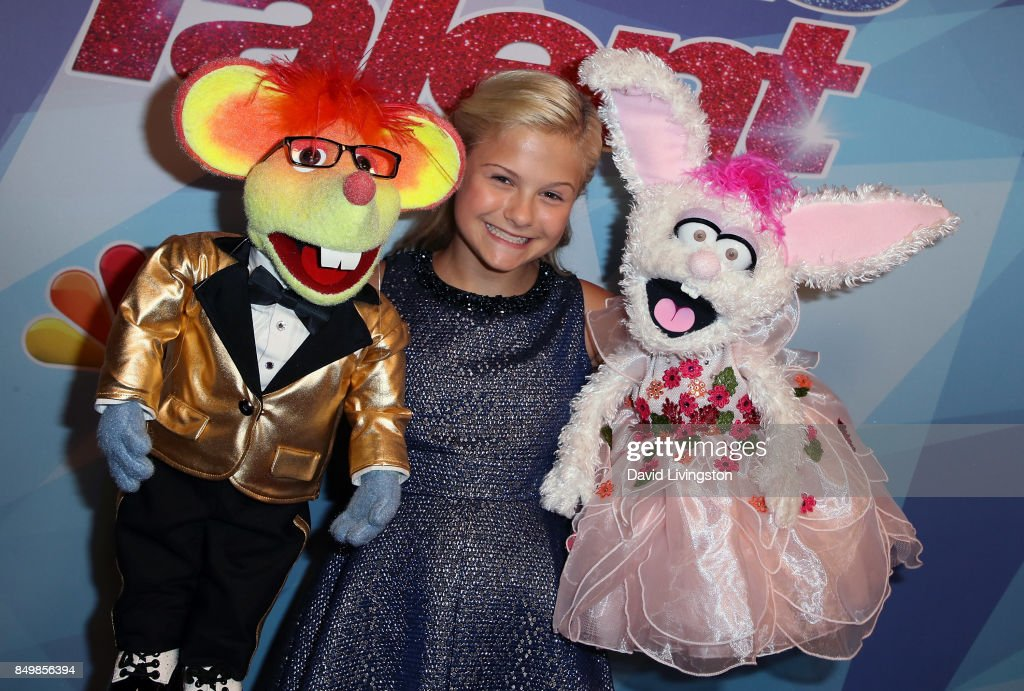 Contestant Darci Lynne attends NBC's 'America's Got Talent' Season 12 Finale Week at Dolby Theatre on September 19, 2017 in Hollywood, California.