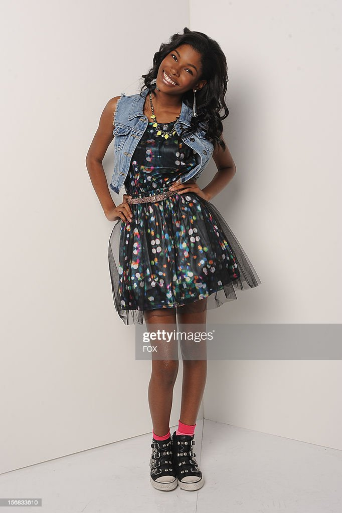 Contestant Diamond White backstage at FOX's 'The X Factor' Season 2 Top 10 Live Performance Show on November 21, 2012 in Hollywood, California.