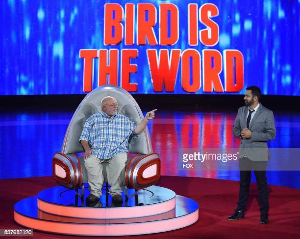 Contestant Greg Miller and host Kal Penn in the allnew ShellShocked Scrambled episode of MASTERCHEF airing Wednesday June 28 on FOX
