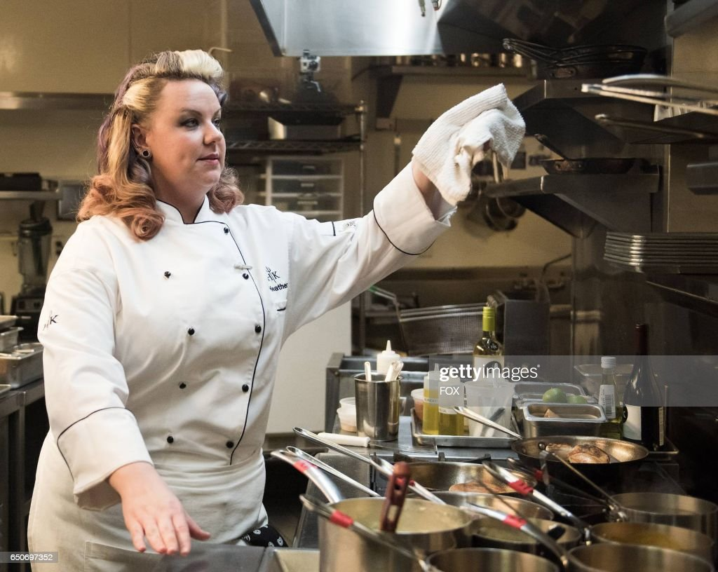 Contestant Heather in the season finale of HELLS KITCHEN airing Thursday, Feb. 2 (8:00-9:01 PM ET/PT) on FOX.