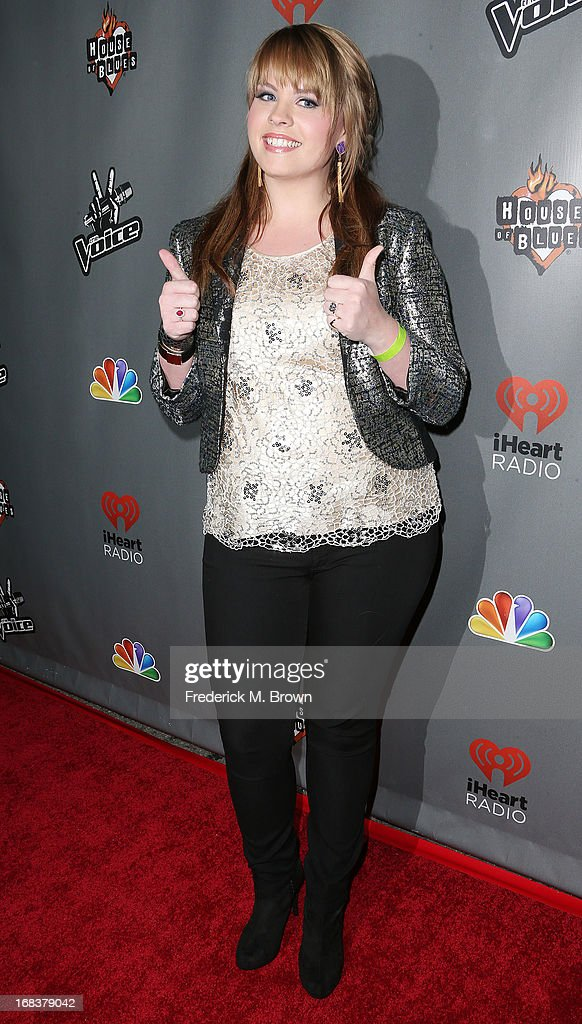 Contestant Holly Tucker attends NBC's 'The Voice' Season 4 Red Carpet Event at the House of Blues Sunset Strip on May 8, 2013 in West Hollywood, California.