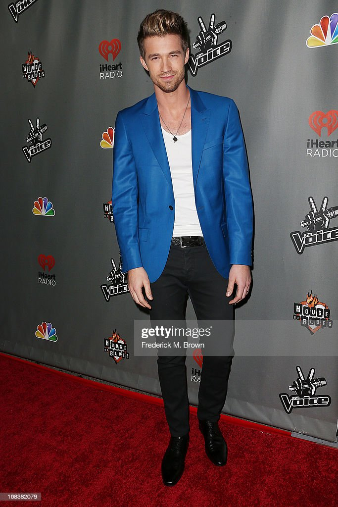 Contestant Josiah Hawley attends NBC's 'The Voice' Season 4 Red Carpet Event at the House of Blues Sunset Strip on May 8, 2013 in West Hollywood, California.
